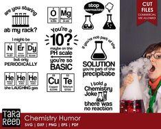 Chemistry Humor / Science svg / Science teacher svg / Science humor svg / svg files / svg for Cricut / svg for Silhouette / svg bundle