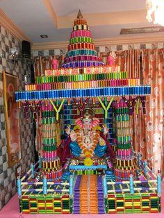 Eco-Friendly Ganesh: Eco friendly Decorations Ideas