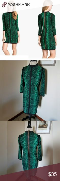 Juicy Couture Snake Print Dress Super sexy! Worn maybe three times. Juicy Couture Dresses Mini