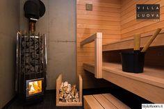 sauna,betoni,tervaleppä,puukiuas,saunatilat