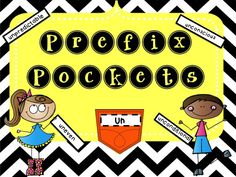 Prefix Pockets are an interactive way for students to learn! Great for bulletin boards or interactive notebooks!
