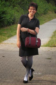 Ich mal mit Handtasche! ;)
