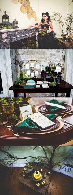 Maleficent Married Fairytale Wedding Inspiration WHAAATTT!?!!!?!