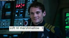 that's the perfect way to describe Chekov