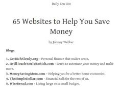 Post with 23407 votes and 712790 views. Shared by FuckingHomepage. 65 Websites to Help You Save Money Life Hacks Websites, Cool Websites, Simple Life Hacks, Useful Life Hacks, Life Advice, Good Advice, Survival Life Hacks, Sites Online, The More You Know