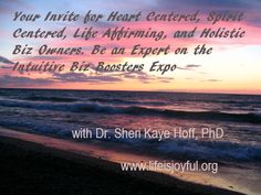 Intuitive Biz Boosters Expo- be an expert for this #listbuilding event #listapalooza #yourpath