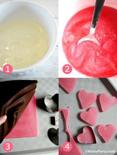 Party Printables | Party Ideas | Party Planning | Party Crafts | Party Recipes | BLOG Bird's Party: Handmade With Love: Easy DIY Valentine's...