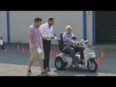 The popular TGA safe mobility scooter driving awareness day - Elderly Care and Mobility Video By TGA Mobility