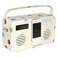 Polka Dot Radio iPhone 4