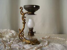 Antique Medicine Lamp Vapo Cresolene Vaporizer by cynthiasattic