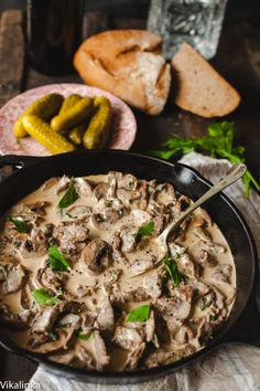 Burgers, Stroganoff, and More Beef Dinner Recipes to Try Tonight via Brit + Co Meat Recipes, Dinner Recipes, Cooking Recipes, Healthy Recipes, Drink Recipes, Slow Cooking, Beef Dishes, Food Dishes, Gastronomia