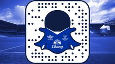 English Premier League club Everton FC have officially joined Snapchat