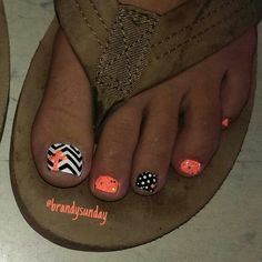 Chevron  cross nail-art by Brandy Sunday