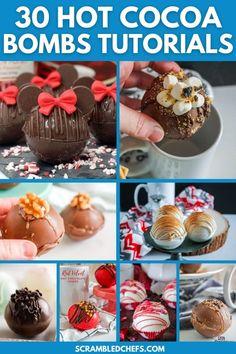 Hot Chocolate Gifts, Hot Chocolate Fudge, Chocolate Work, Chocolate Spoons, Mexican Hot Chocolate, Homemade Hot Chocolate, Hot Chocolate Recipes, Chocolate Treats, Bombe Recipe