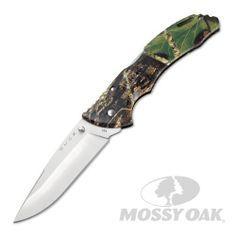 Buck 286 Large Bantam Folding Hunting Knife in Mossy Oak Break-Up