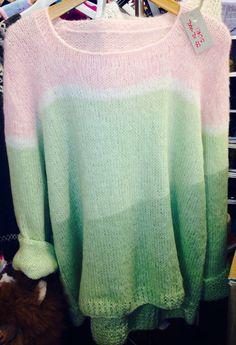 Sommar SKAPPEL. Angora, Geometric Shapes, Knits, Knitwear, Texture, Knitting, Crochet, How To Make, Inspiration