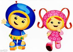 team umizoomi stickers - wall decals