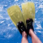 """Fins have long been misunderstood as """"cheating"""" tools, but when used sparingly and correctly, fins can strengthen your legs, improve endurance, and teach proper stroke technique. Swimming Workouts For Beginners, Workouts For Swimmers, Swim Workouts, Pool Workout, Swimming Drills, Swimming Tips, Open Water Swimming, Swim Training, Triathlon Training"""