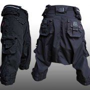 Guys:Pants:The Zuav Leather (Sarouel Pants) : ShamanElectro.com