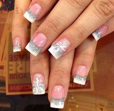 Winter nail art winter nails - amzn.to/2iZnRSz Luxury Beauty - winter nails - http://amzn.to/2lfafj4