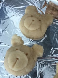 Salt dough bears