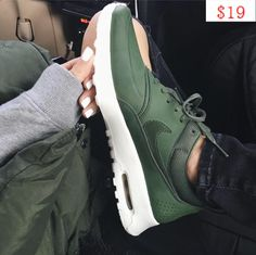 Olive and Leather Nike