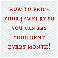Art Bead Scene Blog: Pricing Secrets with Tracy Matthews...short & simple