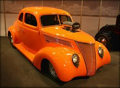 1937 Ford coupes ( blown)