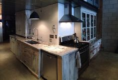 my reclaimed kitchen. repurposed. rustic.