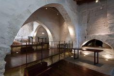 Restauración y musealización del Forn de la Vila de Llíria / hidalgomora arquitectura #arquitectura #museo #restauración #piedra #madera