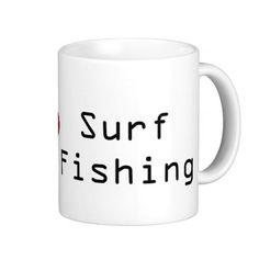 Yep Love Surf Fishing Mugs