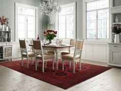 Afghan Khal Mohammadi 245x353 Persian Rug, Dining Table, Rugs, Carpets, Inspiration, Furniture, Australia, Home Decor, Modern Carpet