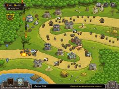 Kingdom Rush.  Great game for planning skills.  Kingdom Rush is a game where players must defend their realm from invading enemies.