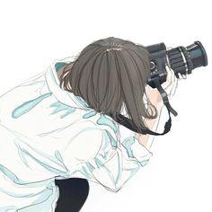 Anime Girl Drawings, Cute Drawings, Manga Girl, Anime Art Girl, Girl Cartoon, Cartoon Art, Aesthetic Art, Aesthetic Anime, Tmblr Girl