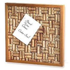 Wine Cork Board Kit at Joss and Main Wine Cork Art, Wine Cork Crafts, Wine Corks, Wine Cork Boards, Bottle Crafts, Home Crafts, Diy And Crafts, Cork Bulletin Boards, Creation Deco