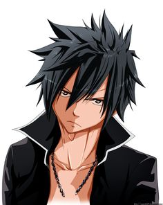 Gray Fullbuster_colored 238 by Enara123 on deviantART Or Zeref?...
