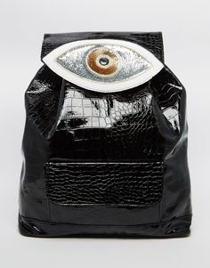 Sunita Mukhi Backpack With Evil Eye