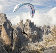 Paragliding. 'nuff said.