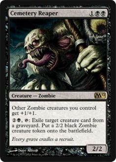 Mtg Black Zombies Deck Endless Ranks Of The Dead Magic The Gathering Rare Cards Magic The Gathering Cards Magic The Gathering Black Zombie