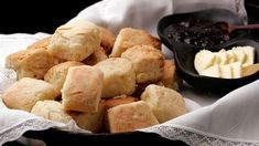 Callie's Biscuits The Washington Post, November 2007 Cuisine: American Course: Bread Features: Fast Summary: Serve these for breakfast o. Cream Cheese Biscuits, Flaky Biscuits, Buttermilk Biscuits, Snack Recipes, Cooking Recipes, Snacks, Bread Recipes, Cooking Tips, Bakery Recipes