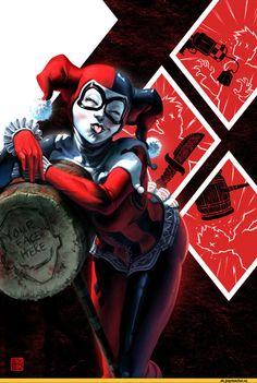 Harley Quinn,DC Evil,DC Comics,фэндомы