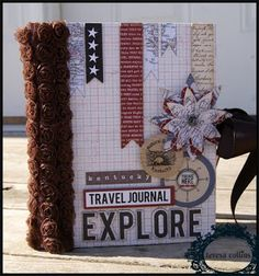 TERESA COLLINS DESIGN TEAM: Travel Journal and video with Stacy Rodriguez