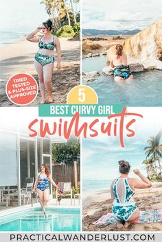 Swimsuits for thick girls! The 5 best swimsuits for curvy figures, tried & tested by a plus sized woman. Plus, where to shop for plus size swimwear. Travel Goals, Travel Advice, Travel Style, Travel Guides, Swimsuits For Curves, Best Swimsuits, Packing List For Travel, Packing Lists, International Travel Tips