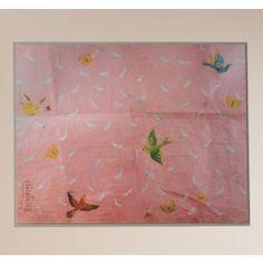 Paule Marrot Feathers Artwork,$2200.00
