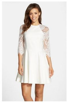 white lace dress nordstrom