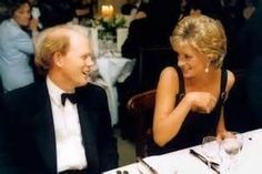 Princess Diana and Ron Howard