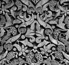 moorish pattern in Alhambra