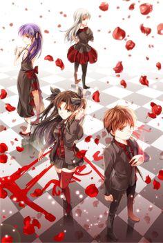 Fate/Stay Night - The Changing World - Shirou Emiya, Rin Tohsaka, Sakura Matou, Illyasviel von Einzbern