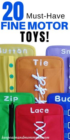 20 Fine Motor Skills Toys For Toddlers and Preschoolers! – Keep Calm And Mommy On 20 Must-Have Fine Motor Toys! Fine Motor Skills, Fine Motor Activities For Kids, Sensory Activities For Preschoolers Sensory Activities For Preschoolers, Fine Motor Activities For Kids, Motor Skills Activities, Autism Activities, Kindergarten Activities, Infant Activities, Fine Motor Activity, Toddler Activity Board Motor Skills, Educational Toys For Preschoolers