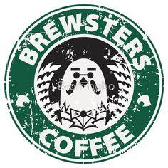 Brewsters Coffee (distressed)